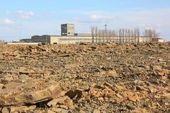 Pedras da fábrica de tratamento Imagens de Stock