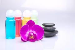 Pedras da massagem Foto de Stock Royalty Free