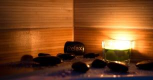 Pedras da massagem Imagens de Stock