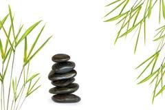 Pedras da massagem dos termas Fotografia de Stock