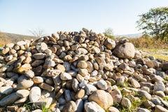 Pedras da montanha Fotografia de Stock