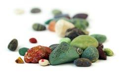 Pedras da praia. Fotos de Stock Royalty Free