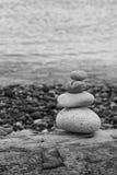 Pedras da praia Fotos de Stock