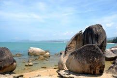 Pedras da praia imagem de stock royalty free