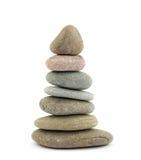 Pedras da terapia do zen fotografia de stock