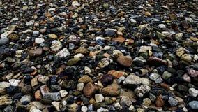 Pedras das cores fotografia de stock