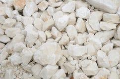 Pedras de cal brancas Imagens de Stock