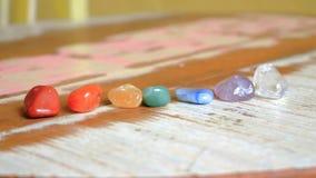 Pedras de Chakras a curar Fotos de Stock Royalty Free