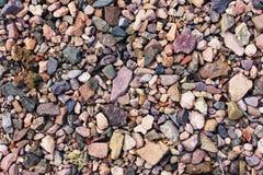 Pedras de cores diferentes Foto de Stock Royalty Free