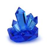 Pedras de cristal Fotos de Stock Royalty Free