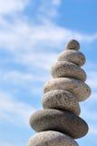 Pedras de Disbalance Fotografia de Stock