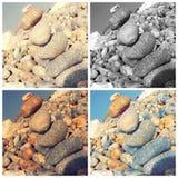 Pedras de equilíbrio Imagens de Stock