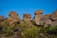 Pedras de Gigant Fotos de Stock