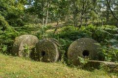 Pedras de moer antigas Fotos de Stock