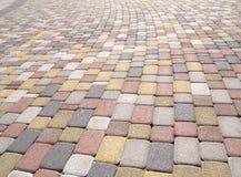 Pedras de pavimentação Imagens de Stock