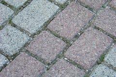 Pedras de pavimentação Imagens de Stock Royalty Free