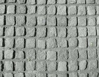 Pedras de pavimentação do granito Foto de Stock