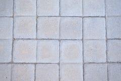 Pedras de pavimentação puras do cinza OCD foto de stock