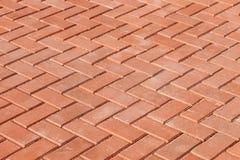 Pedras de pavimentação vermelhas Imagem de Stock