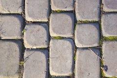 Pedras de pavimenta??o cinzentas foto de stock royalty free