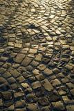 Pedras de pavimentação urbanas Imagens de Stock
