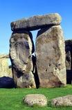 Pedras de Sarcen, Stonehenge Fotografia de Stock Royalty Free