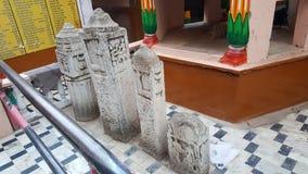 Pedras de Sati de Shivad, Rajasthan fotografia de stock