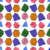 Pedras de vidro coloridas Imagens de Stock Royalty Free
