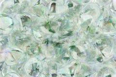 Pedras de vidro no teste padrão abstrato Fotografia de Stock