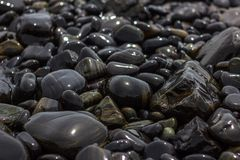 Pedras decorativas foto de stock