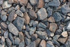 Pedras dispersadas Imagens de Stock Royalty Free