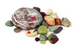 Pedras do amor. Foto de Stock