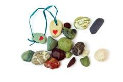 Pedras do amor. Foto de Stock Royalty Free