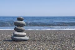 Pedras do equilíbrio Foto de Stock