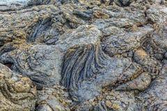Pedras do fluxo vulcânico foto de stock