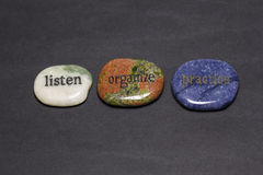 Pedras do fraseio Foto de Stock Royalty Free