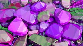 Pedras do fundo Fotografia de Stock Royalty Free