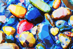 Pedras do fundo Foto de Stock Royalty Free