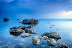 Pedras do mar foto de stock
