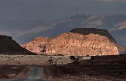 Pedras do parque de Timna foto de stock royalty free