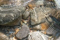 Pedras do rio Foto de Stock Royalty Free