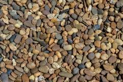 Pedras do rio para o fundo Fotos de Stock