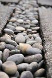 Pedras do seixo da paisagem Imagem de Stock