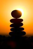 Pedras do zen Fotos de Stock Royalty Free