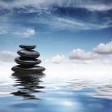 Pedras do zen foto de stock