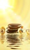 Pedras dos termas Imagem de Stock Royalty Free
