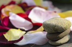Pedras dos termas Fotos de Stock Royalty Free