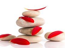 Pedras dos termas. imagem de stock