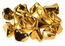 Pedras douradas foto de stock royalty free