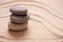 Pedras e bambu do zen Imagem de Stock Royalty Free